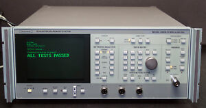 Anritsu Wiltron 5447a Scalar Measurement System 10 Mhz To 20 Ghz