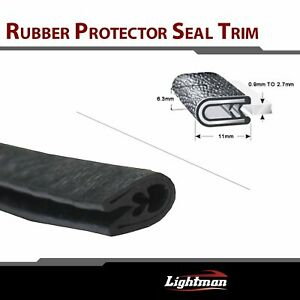11ft Pvc Rubber Seal Strip Car Parts Door Window Auto Accessory Protect U Style