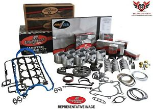 Enginetech Chevy Sbc 283 Engine Overhaul Rebuild Kit With Pistons 1964 1967