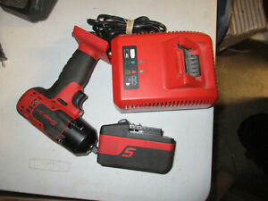 Snap on Impact Wrench driver Ct8810a With 1 Battery Charger 3 8