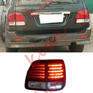 Lx470 Style Led Tail Light Assembly For Toyota Lc100 4500 4700 1998 2007 Refit