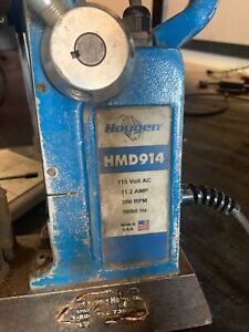 Hougen Hmd914 115v Magnetic Drill Press Made In Usa tools
