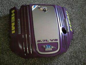 Dodge Chrysler 5 7l Hemi Engine Cover dress Up Cover complete Custom As Shown