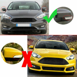 F352 Left Side Door Wing Mirror Cover Casing Fit For Ford Focus Mk2 Mk3