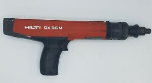 Hilti Dx36m Powder Actuated Nail Gun Fastening Tool Dx 36m With 3 Loads