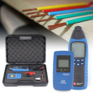Underground General Cable Fault Locator Meter Wire Finder Tester Lcd display Usa