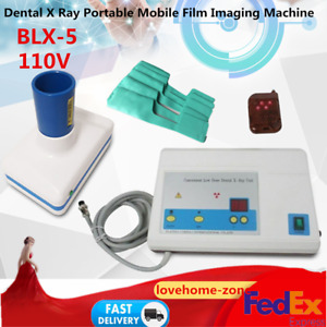 Dental X Ray Portable Mobile Film Imaging Machine Blx 5 Digital Low Dose System