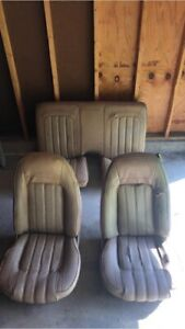 1976 1977 Trans Am Formula Firebird Custom Tan Bucket Seat Seats Set