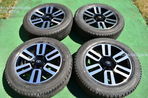 20 Toyota 4runner Limited 2018 2019 Oem Factory Wheels Tires Tundra Tacoma