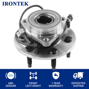 Front Wheel Bearing Hub Assembly For Gmc Sierra Chevy Silverado 1500 4x4 6 Lug