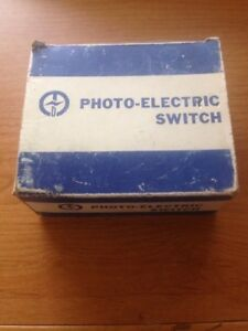 Tend Photo Electric Switch Tos 5va New Old Stock