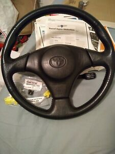 Red Stitching Steering Wheel Oem Toyota Corolla Celica Mr2 Supra