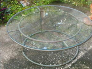 Bronze Patio Coffee Table Walter Lamb Brown Jordan 48 Mid Century Modern Ist