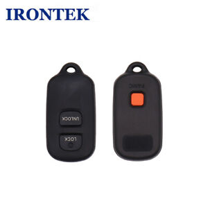 2x Replacement Keyless Entry Key Fob For Toyota Hyq12ban