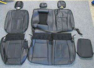 2015 2019 Original Ford F150 Takeoff Rear Black Leather Seat Upholstery