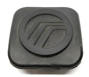 2002 2010 Mercury Mountaineer Trailer Hitch 2 Rubber Emblem Cap Cover