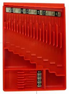 Tool Box Craftsman Slide flip store Chest Sorter Wrench Organizer Tray Rack Red
