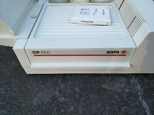 X ray Processor Agfa Cp1000 Automatic Table top Processor Used