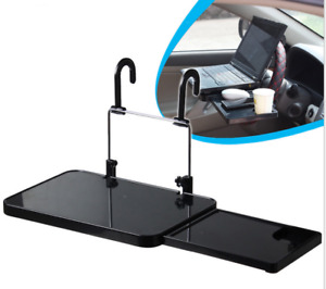 Universal Interior Car Seat Table Drink Food Cup Tray Notebook Computer Desk