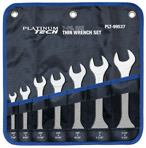 Sae Thin Wrench Set 7 Pc