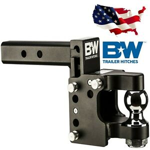 B W Trailer Hitches Ts20055 Tow Stow 8 5in Drop 4 5in Rise 2 5 Receiver Shank