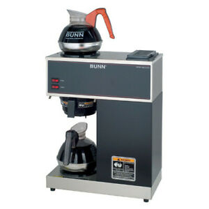Bunn 33200 0002 Vpr Pourover Coffee Brewer Black Includes 2 Decanters