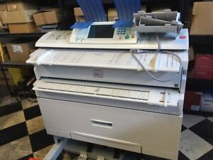 Ricoh Aficio Mp 3406wd Wide Format Plotter Scanner