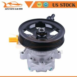 Brand Power Steering Pump For 2012 2017 Jeep Wrangler 3 6l V6 Dohc W Pulley