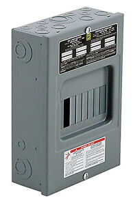 Square D By Schneider Electric 100 amp Main Lug Load Center Qo816l100scp