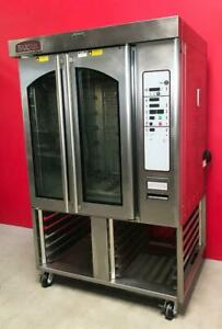 Baxter Ov310g Bakery Restaurant Equipment Mini Rotating Rack Gas Convection Oven