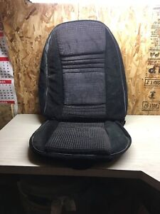 1978 81 Trans Am Firebird Black Custom Cloth Bucket Seat Cover Hobnail Covers