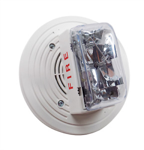 New Simplex 4906 9254 White Addressable Multi candela Speaker Strobe Fire Alarm
