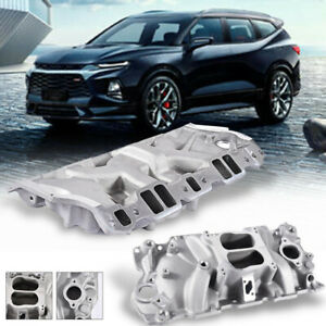 Aluminum Intake Manifold For Chevrolet 1986 1995 350 For Tbi Stock Heads 226016