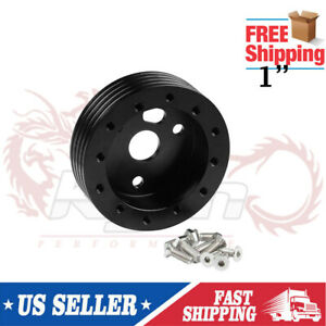 1 Steering Wheel Hub Adapter Spacer For 6 Hole For Fit Grant Apc 3 Hole