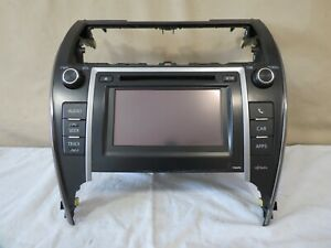 12 13 14 Toyota Camry Radio Cd Mp3 Player Touch Screen Display Oem
