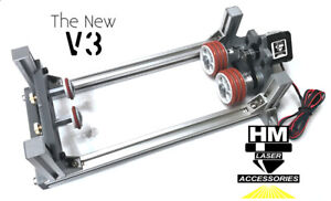 New Hm V3 Fully Xyz Adjustable Laser Rotary Attachment Now With Mtr Height Adj