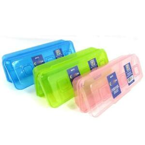 Pencil Box Assorted Colors Case Pack Of 48 Ideal For Bulk Buyers