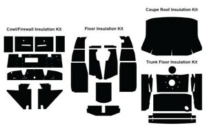 Insulation Sound Deadener Kit For 1955 1962 Mg Mg A Coupe Acoustishield