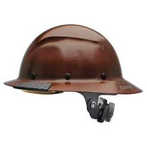 Lift Safety Hdf 15ng Dax Full Brim Natural Hard Hat With Ratchet Suspension New