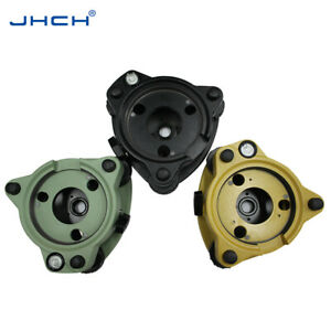 New Topcon Style Tribrach Without Optical Plumment Color Black yellow grey green