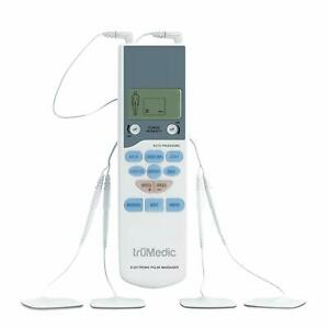 Trumedic Tens Electronic Pulse Unit 4 Electrode Pads For Muscle Stiffness