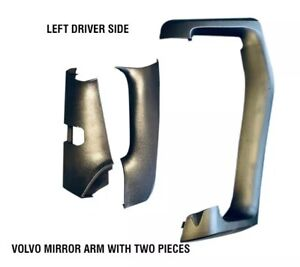 Volvo Vnl Truck Mirror Arm Cover Assembly With Two Pieces Left Driver 2014 2018