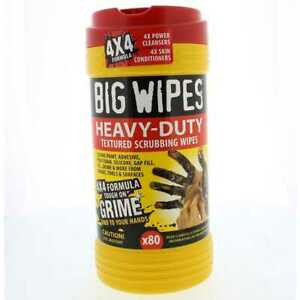 Big Wipes 60020046 Heavy Duty Dual Side Textured Scrubbing Cleaning Wipes