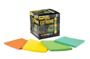 3m Post it Extreme Notes 3x3 Orange green yellow mint 12 Pads X 45 Sheets 540