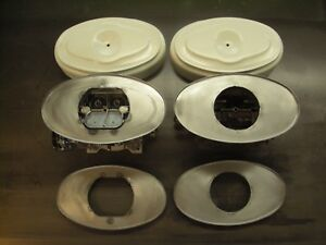 Mopar 1958 1959 1960 1961 1962 Plymouth Chrysler Dual Quads Air Cleaners Bases