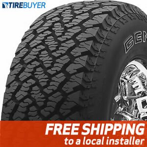4 New 255 70r16 General Grabber At2 255 70 16 Tires A t2