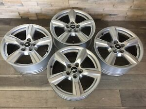 2019 2018 Ford Mustang Factory Oem Wheels Set 4 17 Rims 2017 2016 2015 Silver