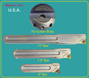 Suburban Tool Fly Cutter 3 Bar Set With R8 Arbor
