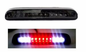 99 16 Ford F250 F350 F450 Super Duty Led 3rd Third Brake Light Stop Lamp Smoke