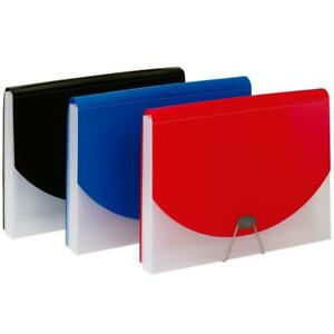 Pendaflex 7 Pocket 1 Document File Assorted Colors blue And Pink Case Pa